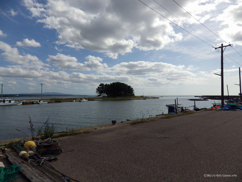 弁天島を眺める