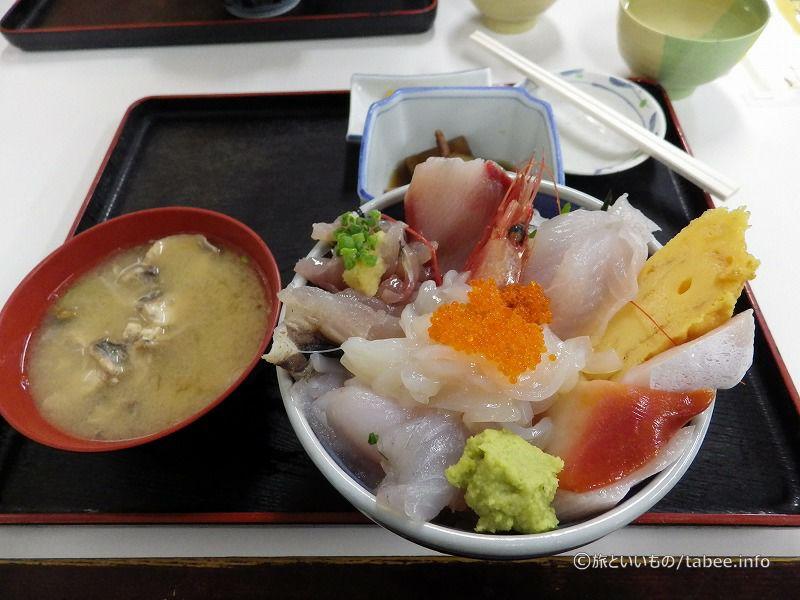 限定海鮮丼税込み1700円
