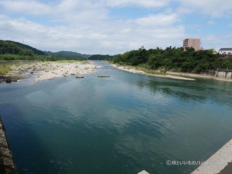 神通川下流