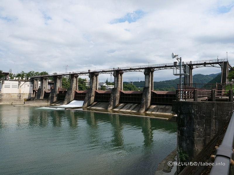 神三ダム下流