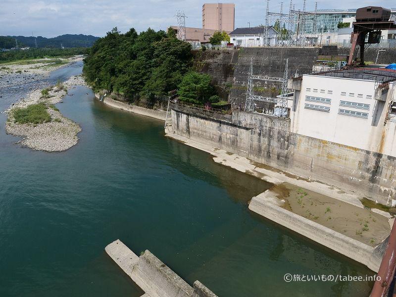 右岸側の神通川第3発電所