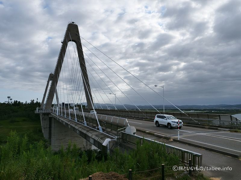 朝の内灘大橋