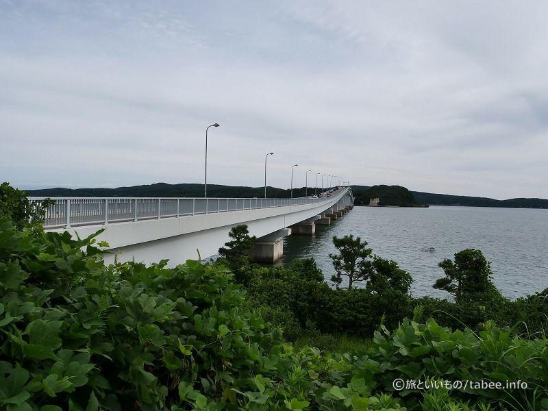 能登島に架かる橋