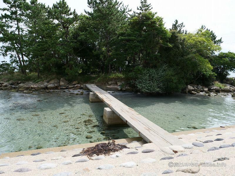 松島へ渡る橋