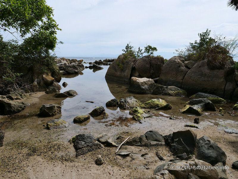 ヤドカリ浜