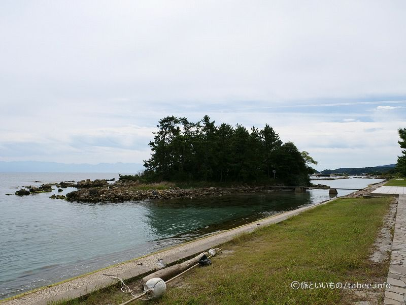 松島が見えます