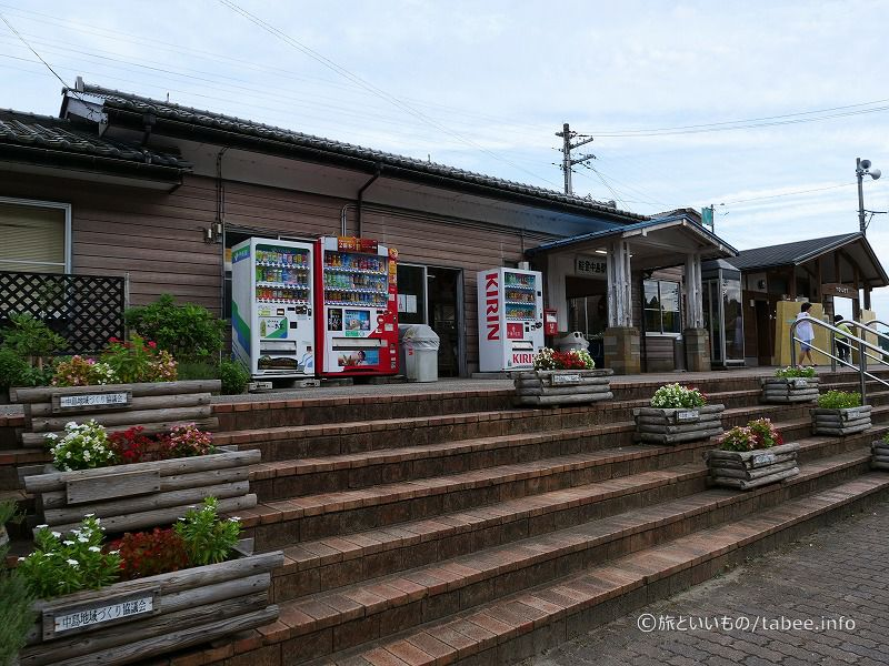 能登中島駅駅舎