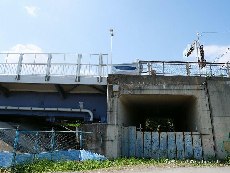 上は湘南大橋