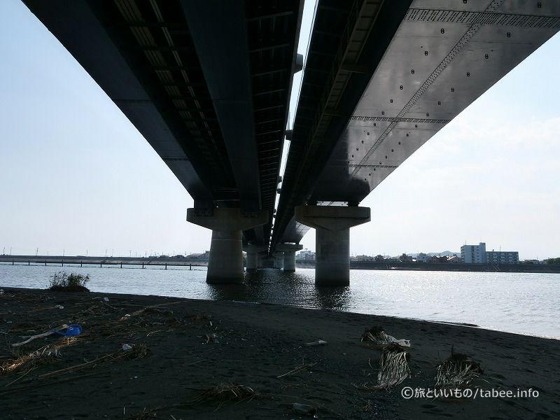 湘南大橋直下