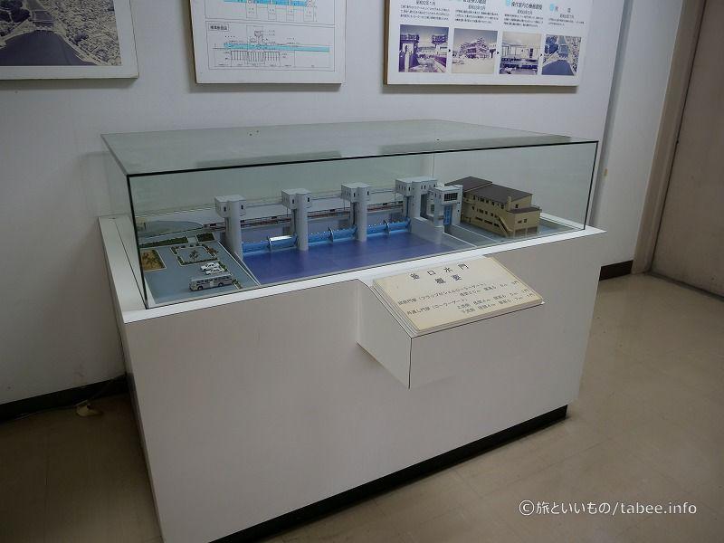 釜口水門模型