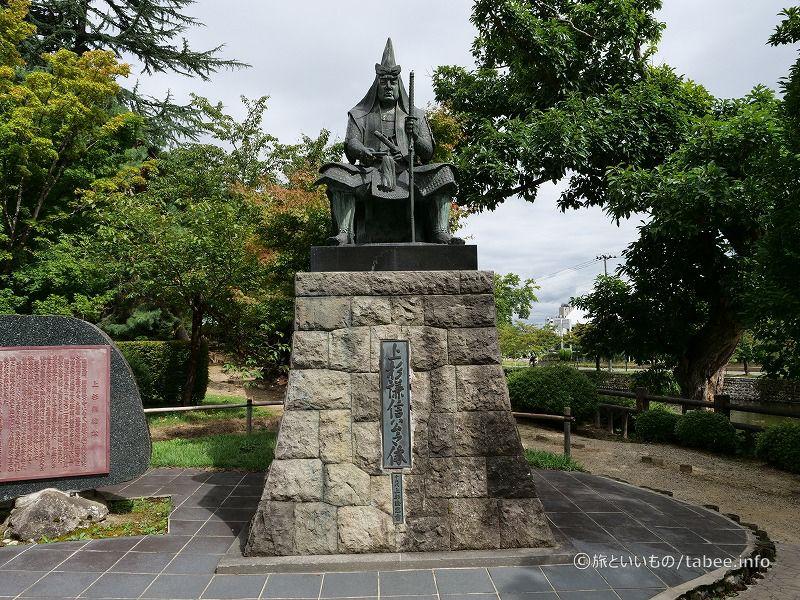 上杉謙信公の像
