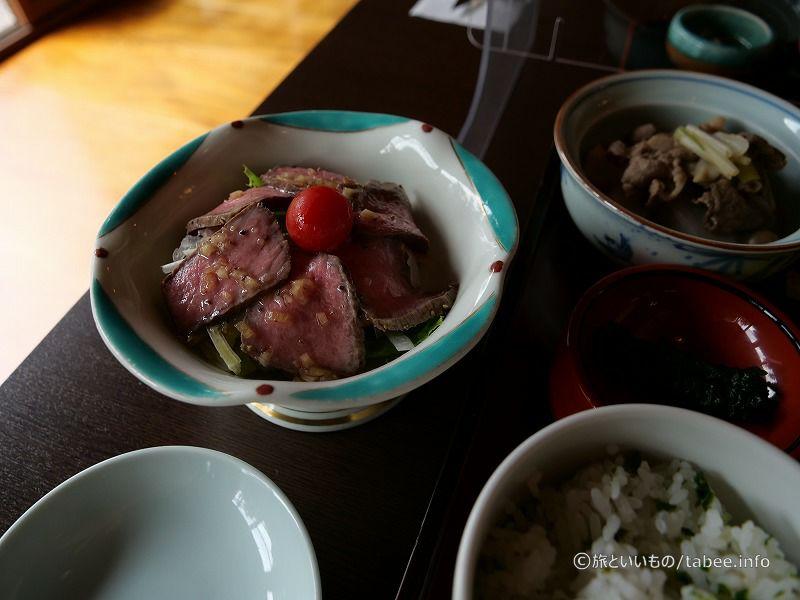 米沢牛のローストビーフ