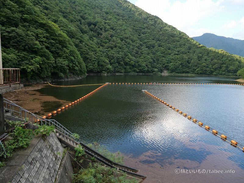 三面ダム湖