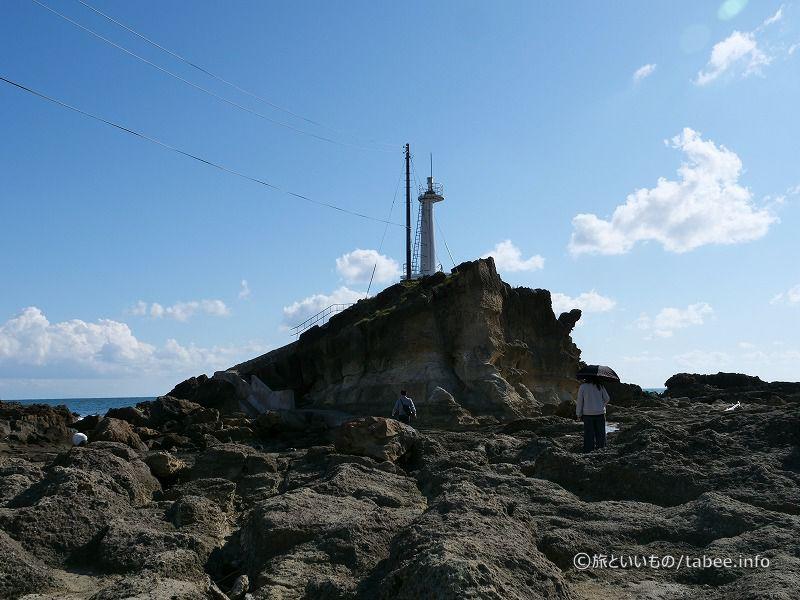 潮瀬崎灯台へ向かいます