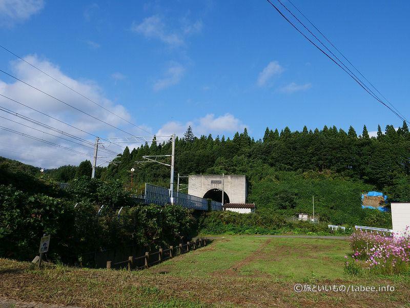青函トンネル北海道方面