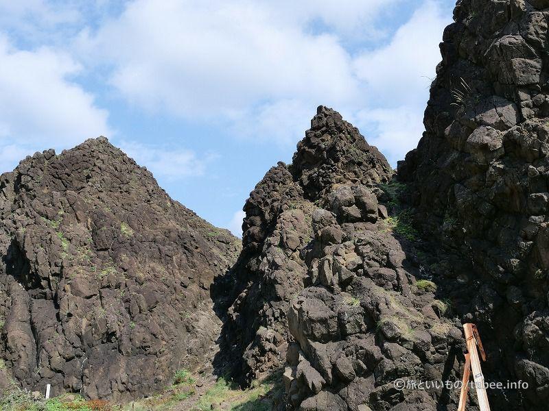 竜飛安山岩類は龍飛岬付近に広く分布しているそうです