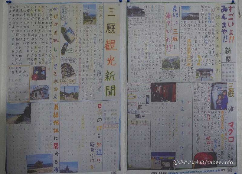 三厩観光新聞